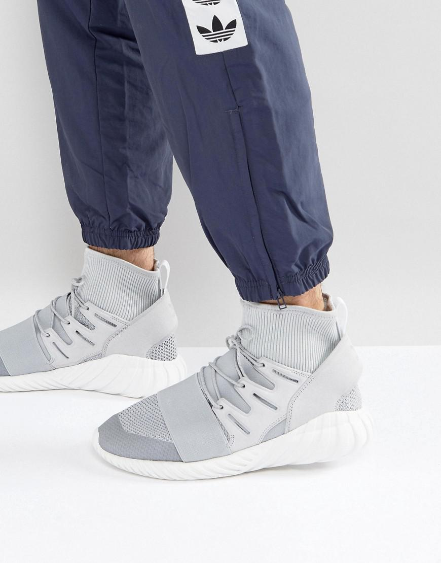 competitive price 0485c a5840 adidas Originals. Mens Tubular Doom Winter Sneakers In Gray By8701