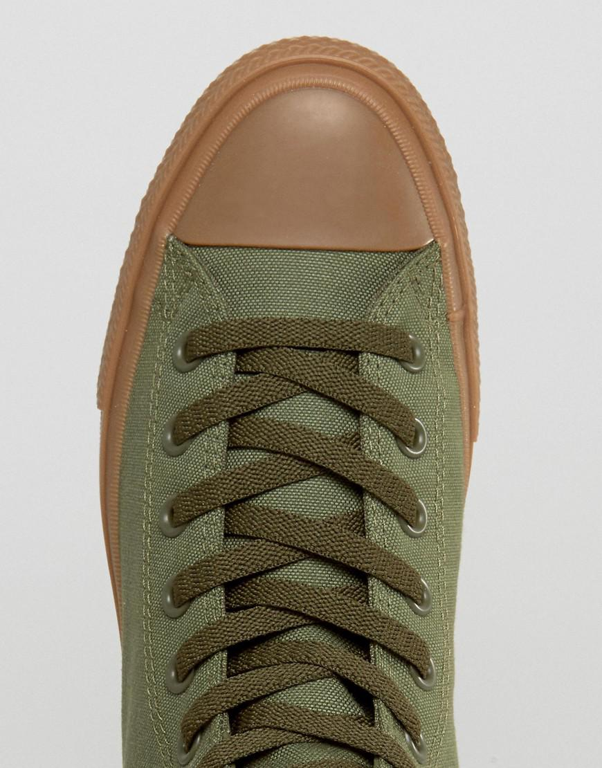 da0f1405a38c Lyst - Converse Chuck Taylor All Star Ii Hi Sneakers With Gum Sole ...