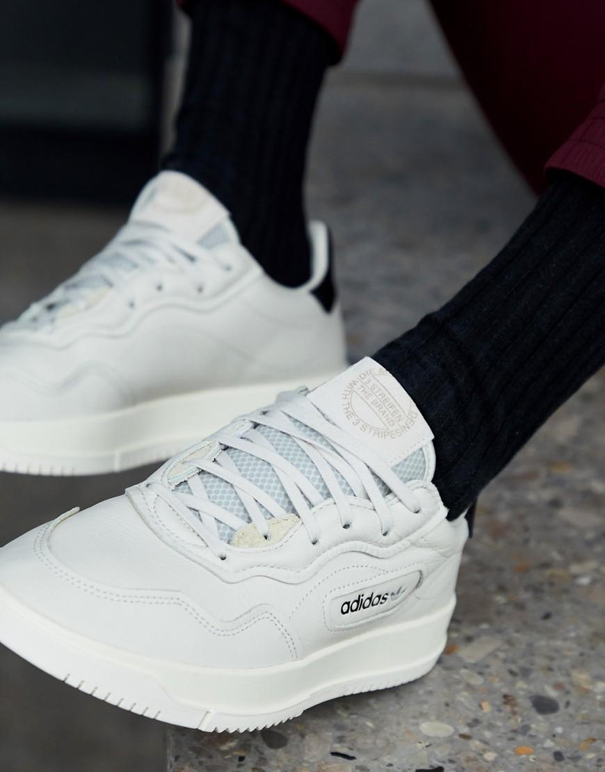 adidas Originals SC Premiere trainers in white