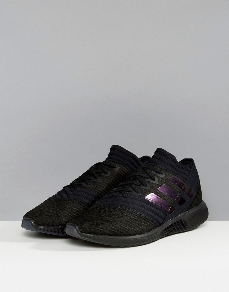 8a5ef6d71 adidas Football Nemiziz Sneakers In Black Bb3660 in Black for Men - Lyst