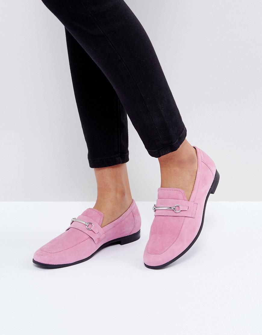 7861b17ae4e9 Lyst - Vagabond Marilyn Loafer In Pink Suede in Pink