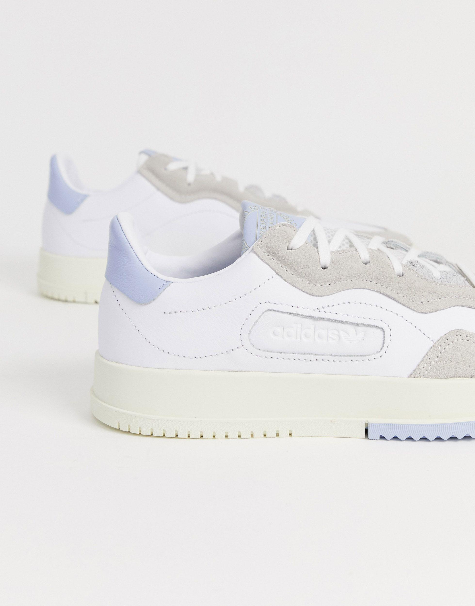 adidas Originals Leer Sc Premier - Sneakers in het Wit voor heren