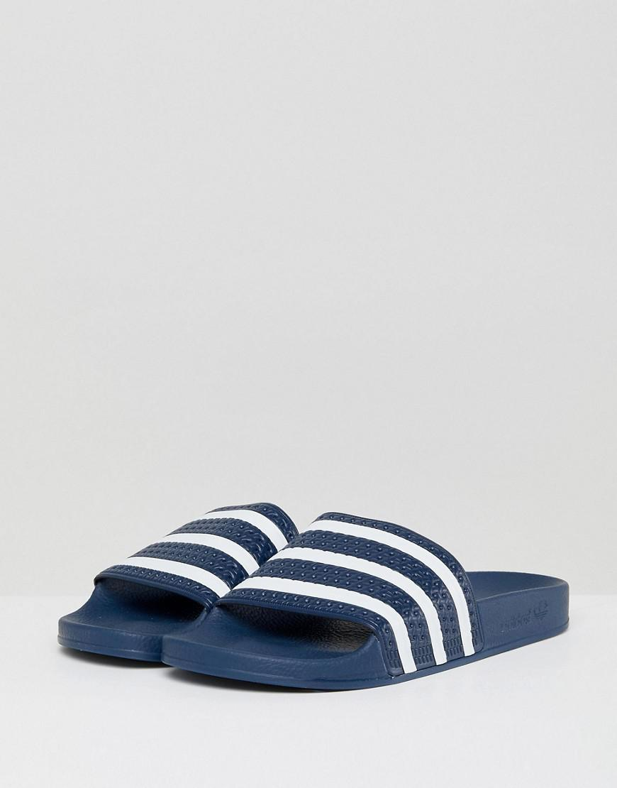134dc2972 adidas Originals Sandals in Blue for Men - Save 67% - Lyst