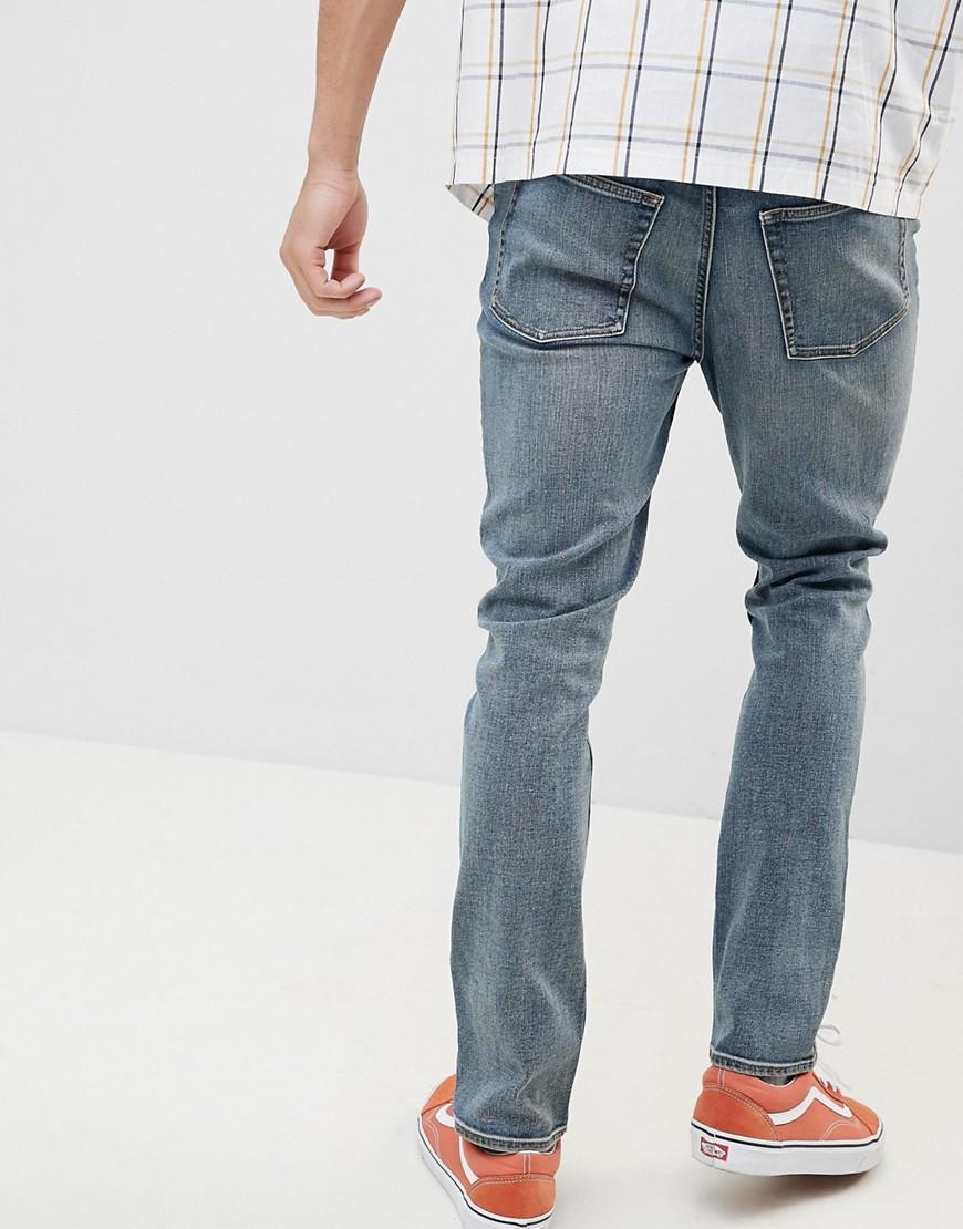 Cheap Monday Denim Slim Jeans in Blue for Men