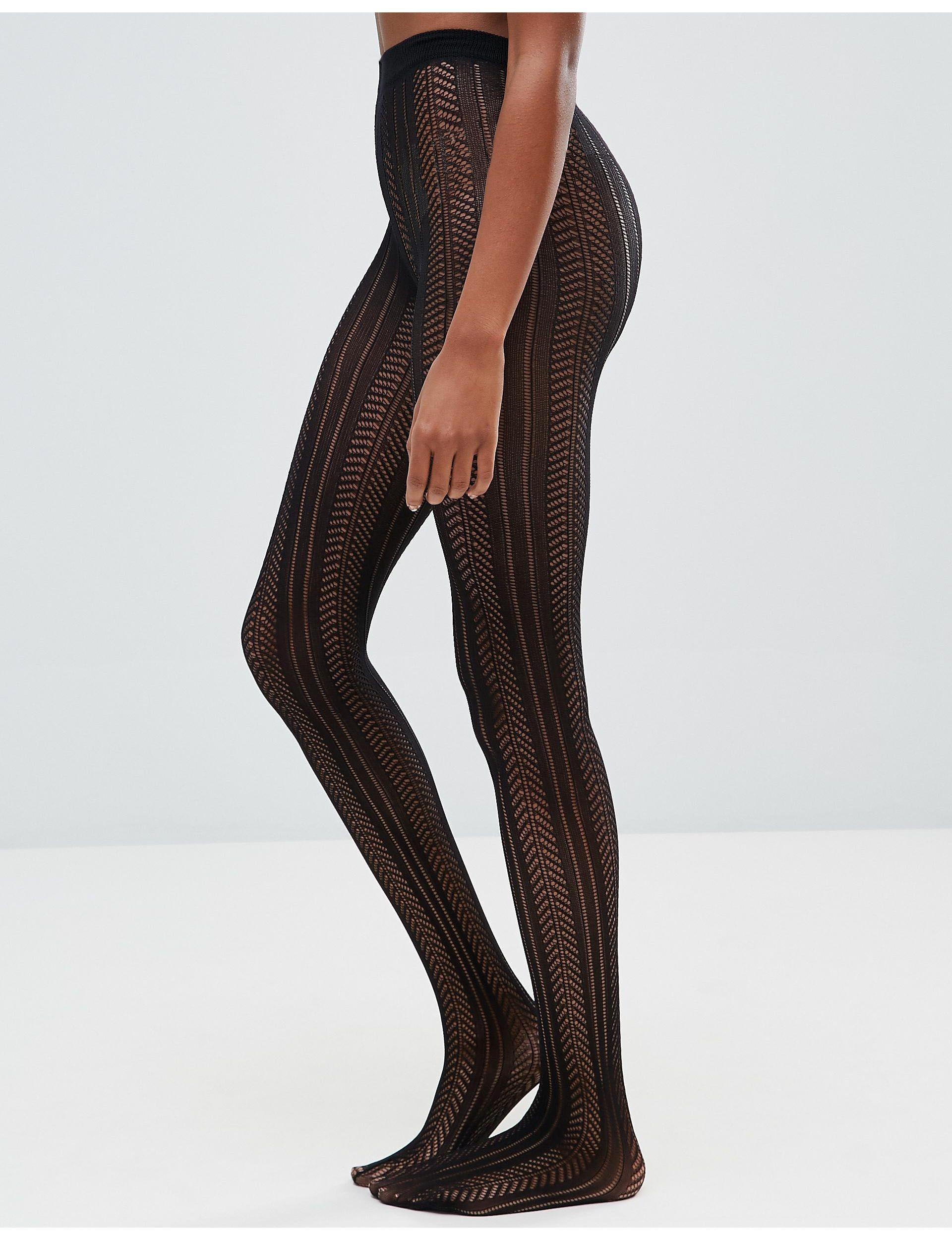Marilyn European Designer Tights Leopard Animal Print Pantyhose Panther Pattern