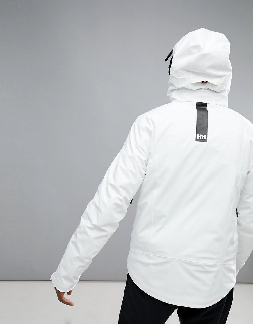 Helly Hansen Alpha 3.0 Jacket In White for Men
