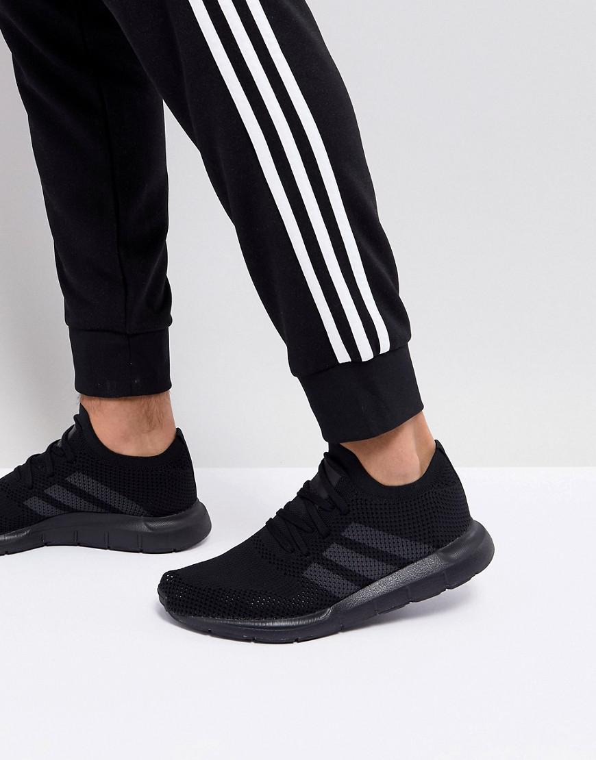 adidas Men's Swift Run Knit Lace Up Sneakers vj5BIWcDbr