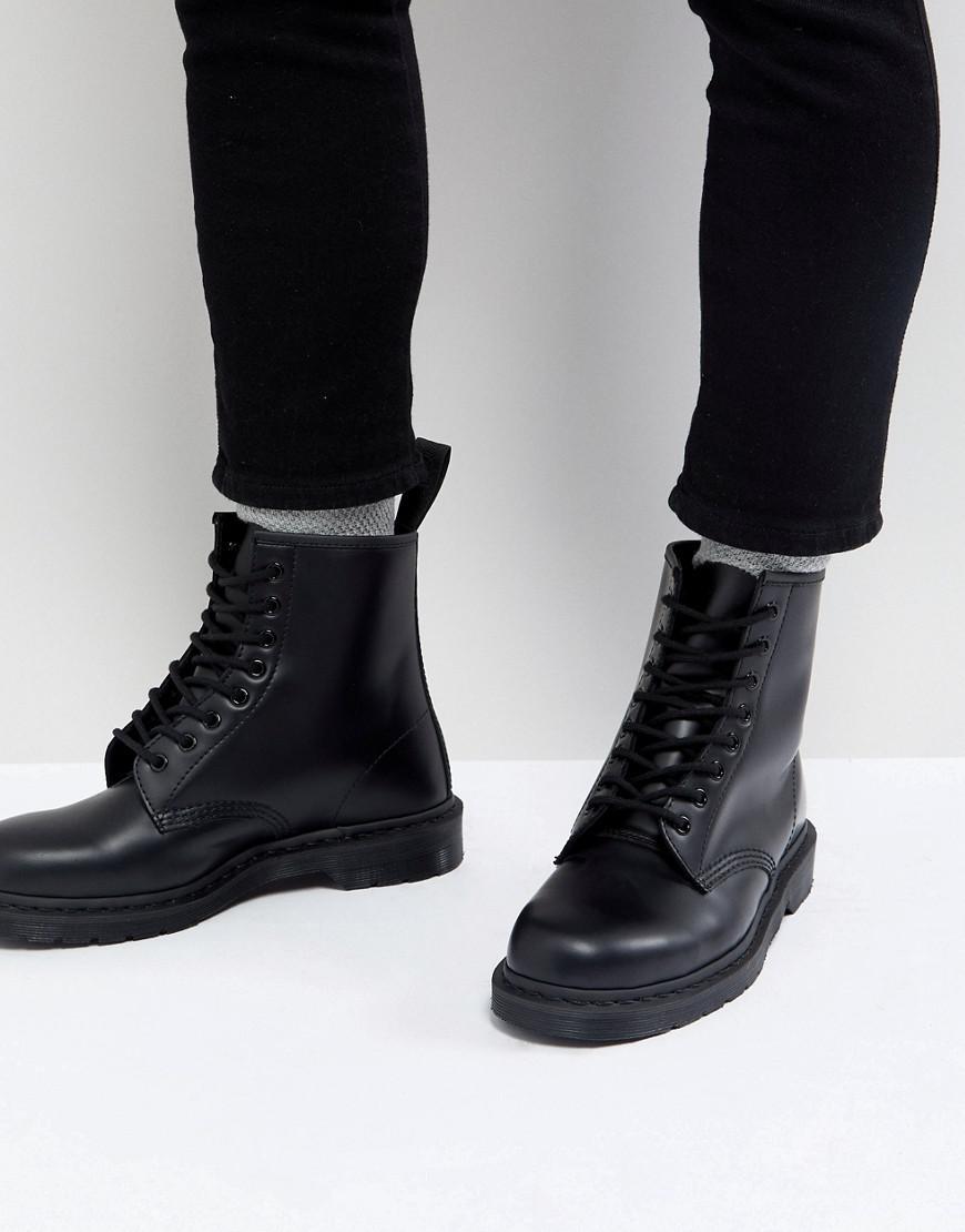 59f0d2c970 Men's 1460 Mono 8-eye Boots In Black