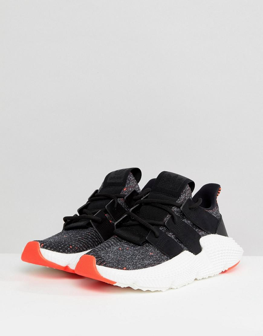 adidas Womens Black /& Pink Prophere Trainers