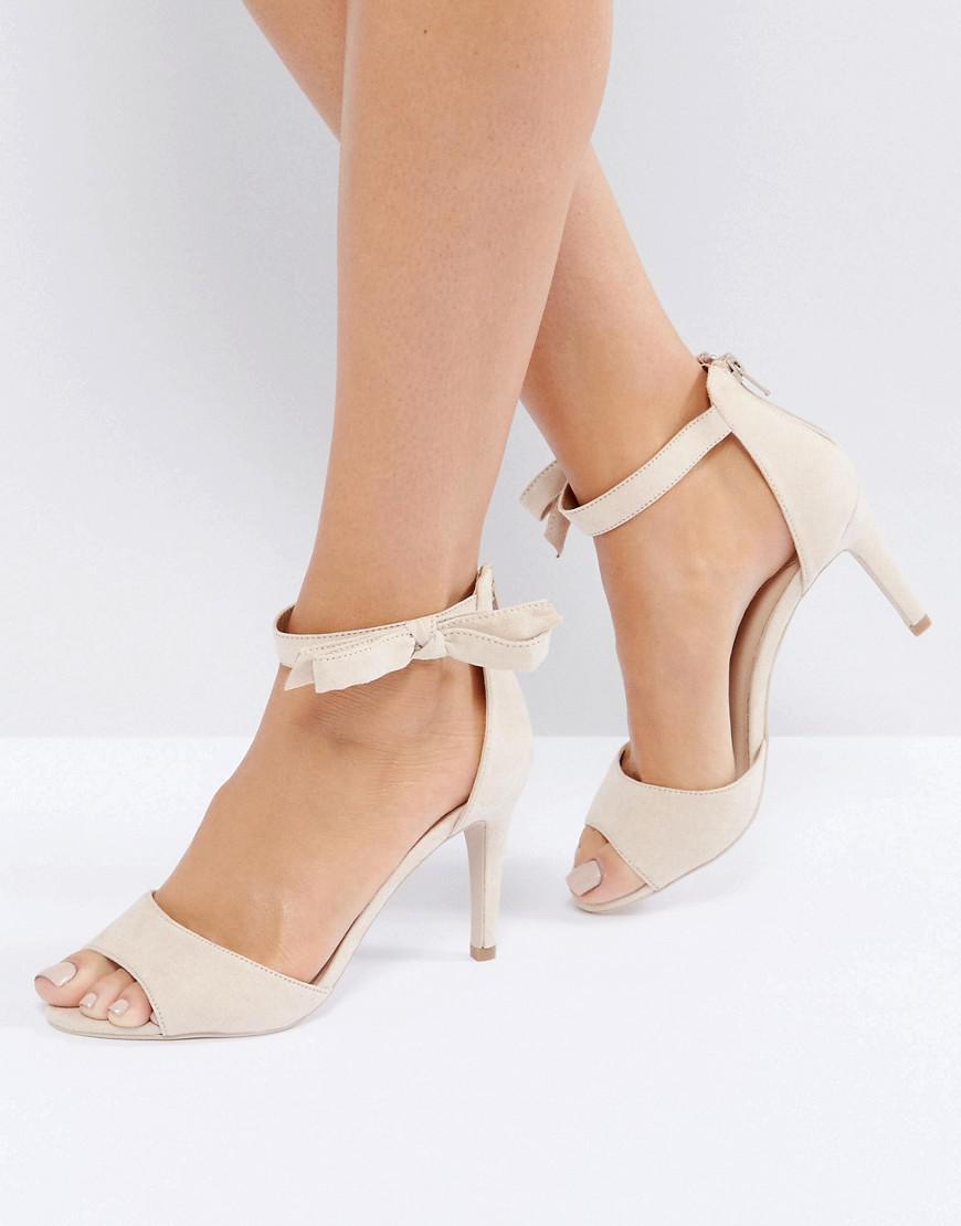 Coast Bow Sandal Heel Shoes fXHum