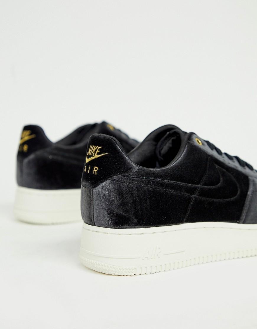Nike Velvet Air Force 1 '07 Sneakers in