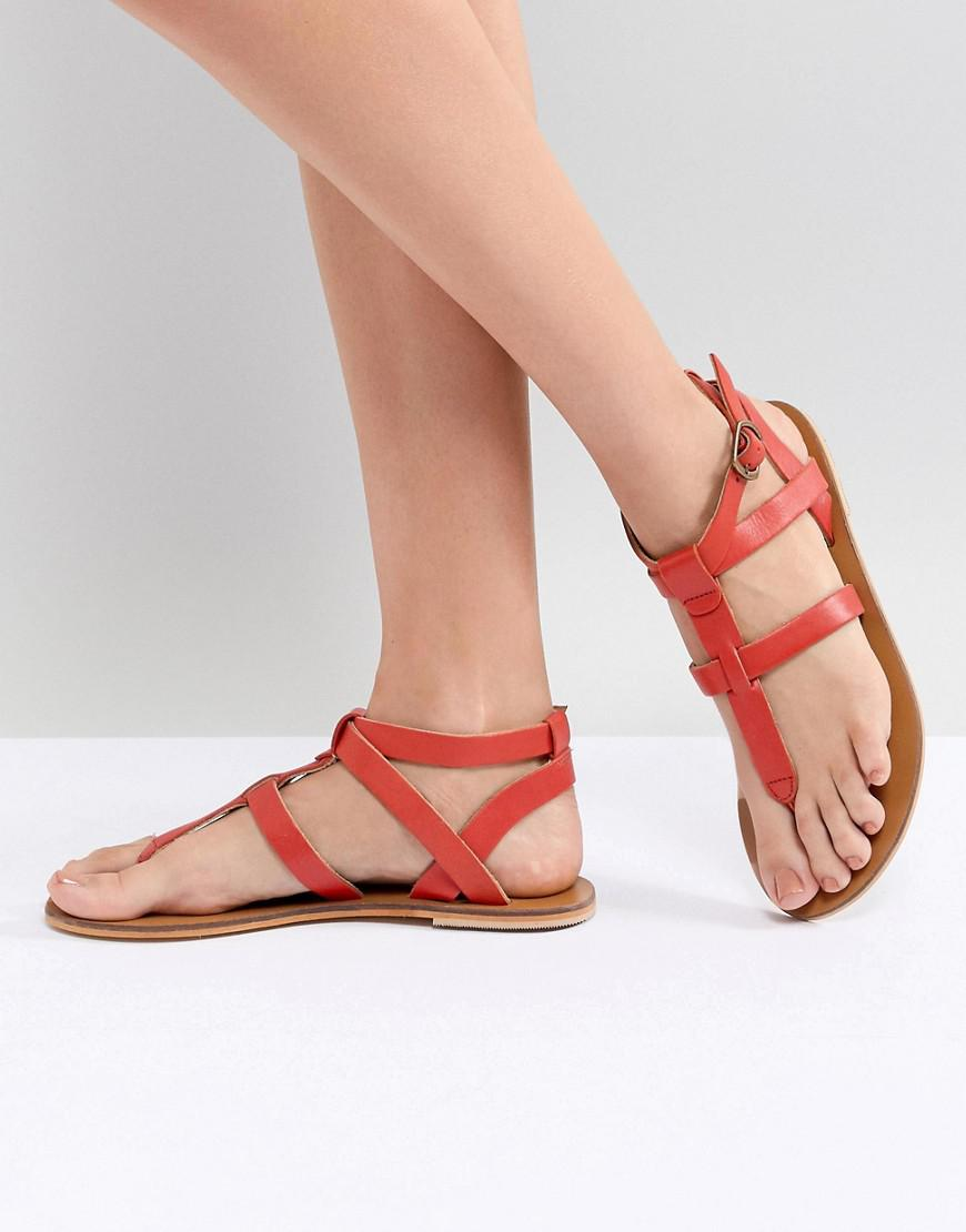 free shipping for sale Warehouse Leather Toe Post Sandals sneakernews cheap online for sale finishline pay with paypal for sale outlet new styles 25tt5iYPs