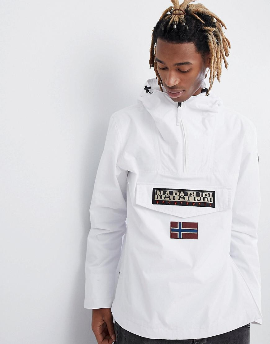 06620867f Napapijri Rainforest Jacket In White for men