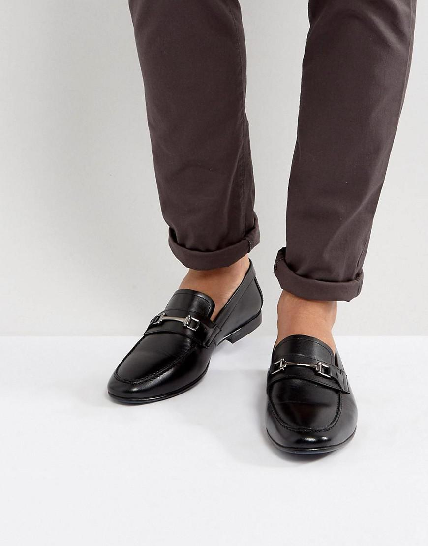 Kg By Kurt Geiger Patent Smart Loafers - Black Kurt Geiger wpJ5A