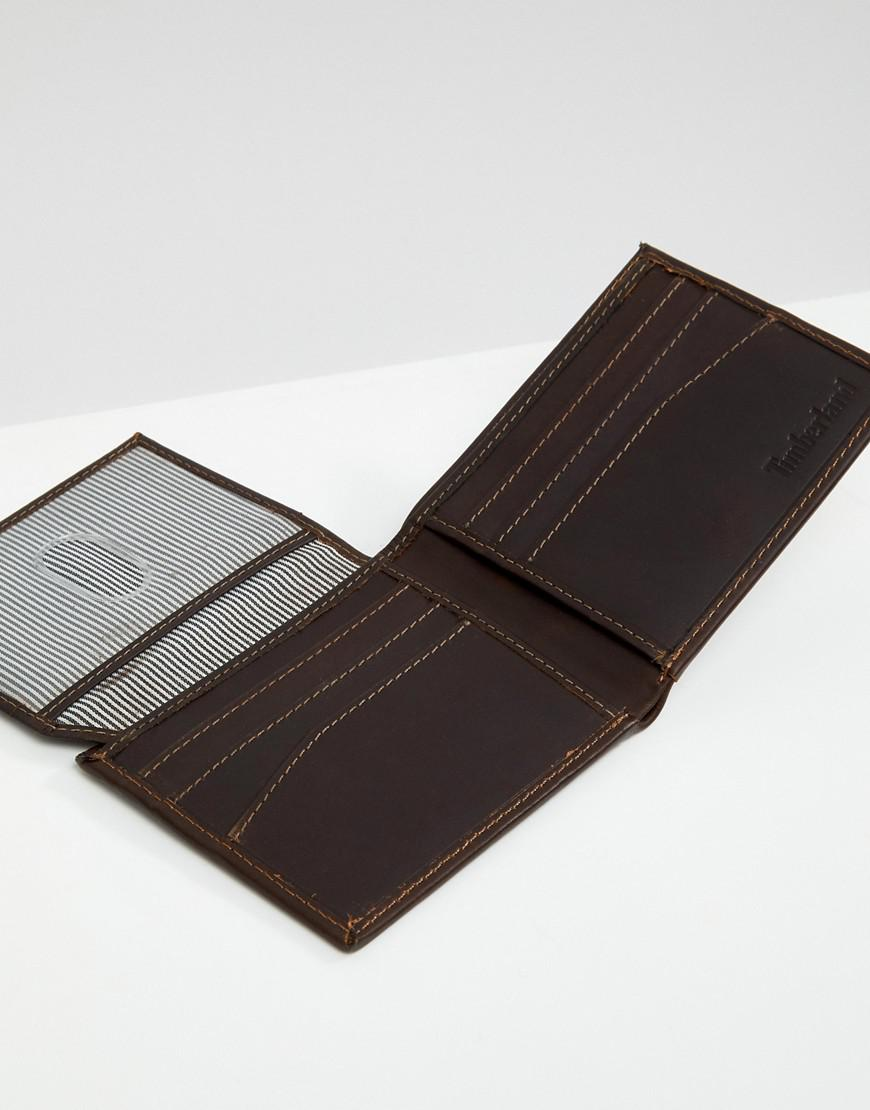 Grafton Notch Wallet In Dark Brown