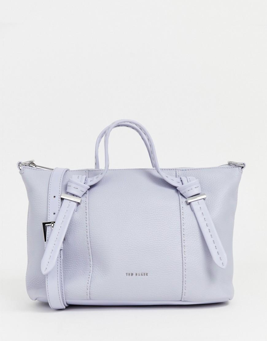 aed3dee8829f4 Ted Baker Olmia Small Tote Bag in Blue - Lyst