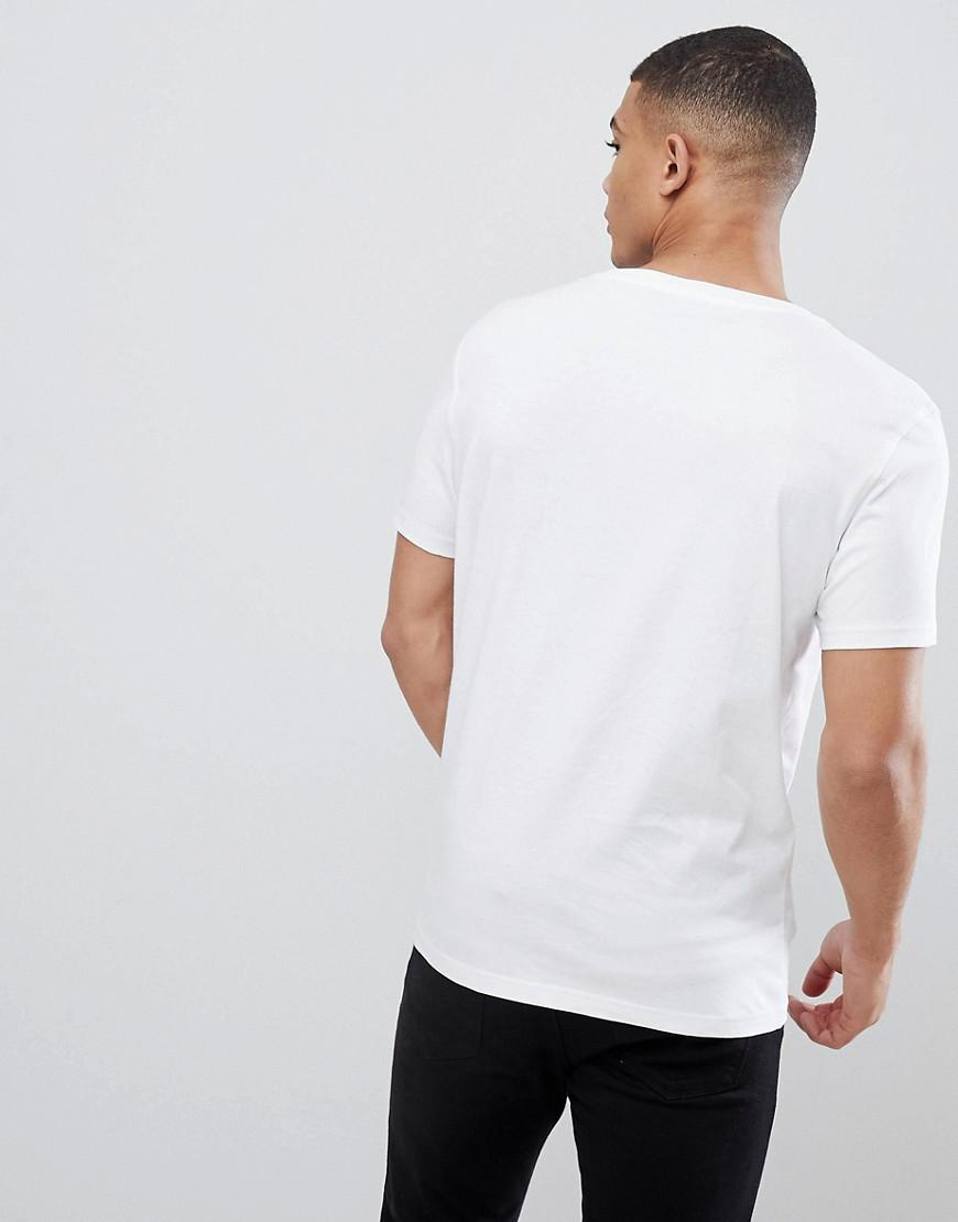f6ea932754d16 Tommy Hilfiger Flag Icon T-shirt In Organic Cotton In White in White for Men  - Lyst