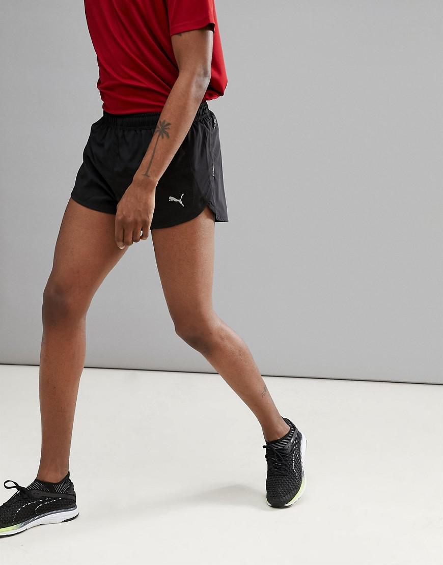 PUMA Running Core Run Split Shorts In Black 51501201 for men