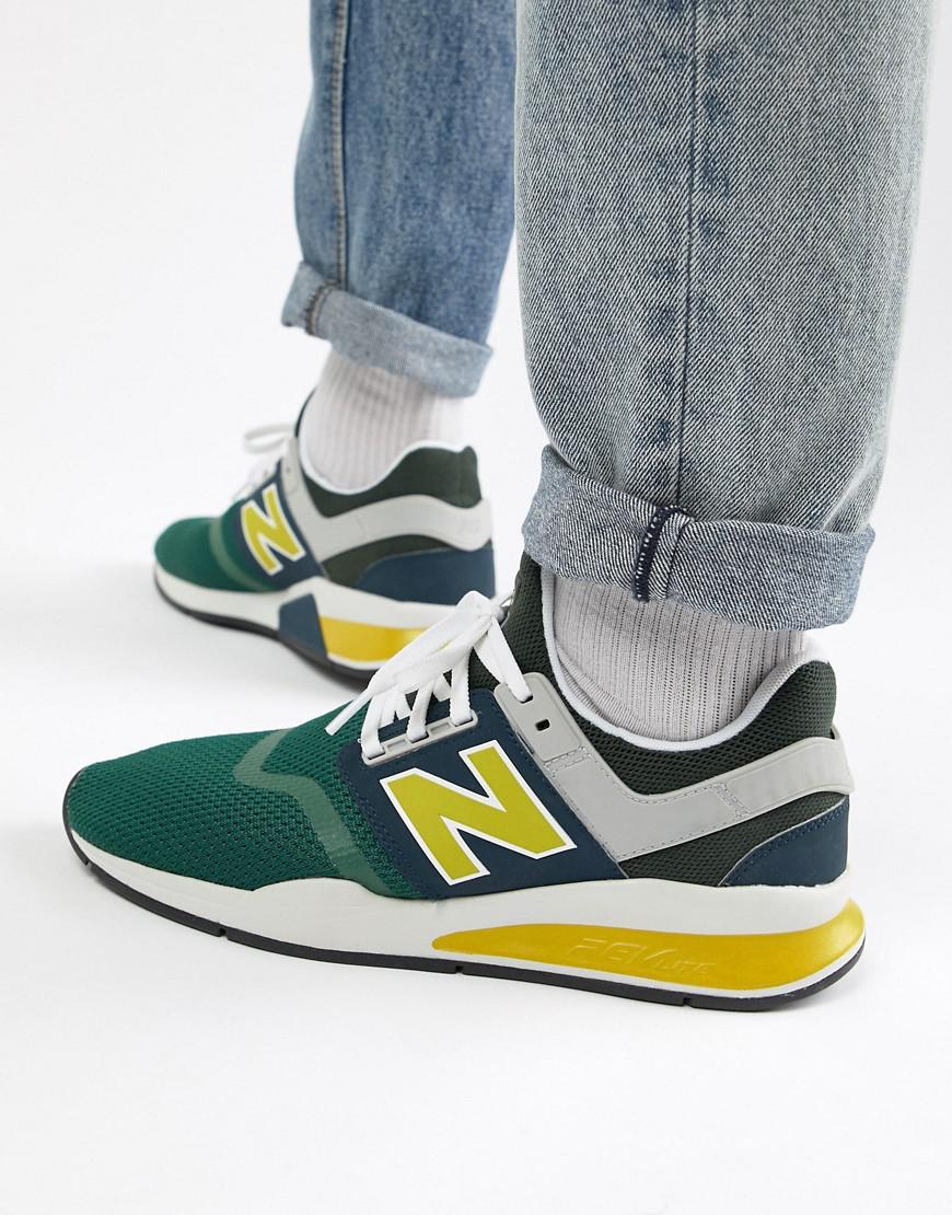04322f862f New Balance 247v2 Trainers In Green Ms247nmb in Green for Men - Lyst