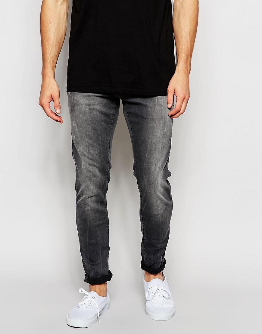 star raw gray jeans defend super slim skinny fit slander grey. Black Bedroom Furniture Sets. Home Design Ideas