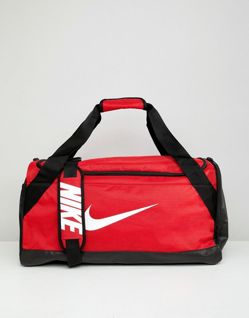 1ec956dbd1 Sac polochon logo virgule Nike en coloris Rouge - Lyst