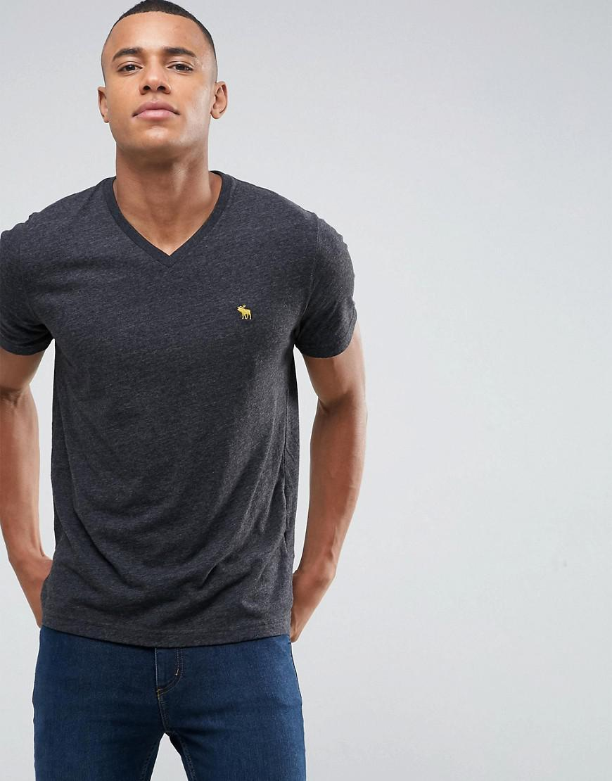 where to buy temperament shoes buy best V Neck T-shirt Muscle Slim Fit Moose Logo In Black