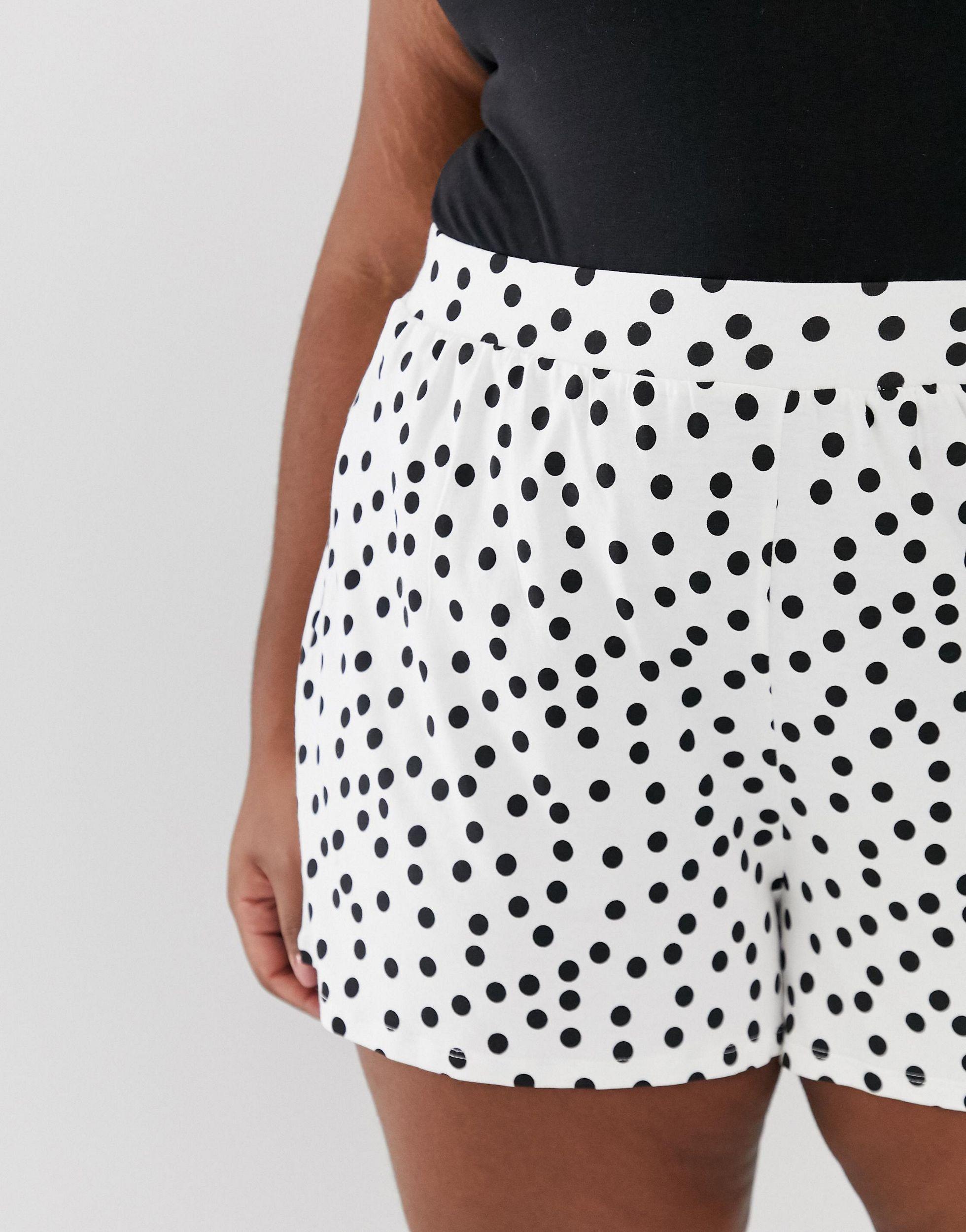 Pantalones cortos ASOS de Denim de color Negro