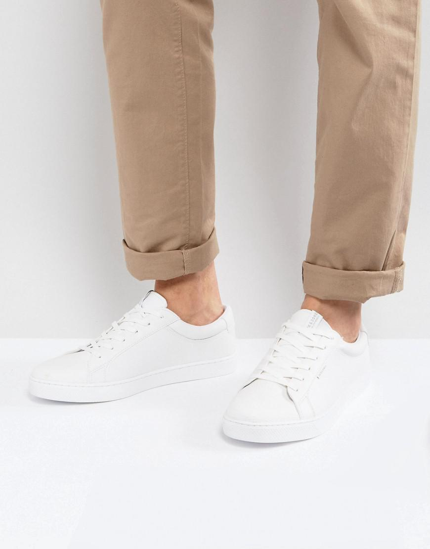 Jones Sable Faux Leather Sneakers