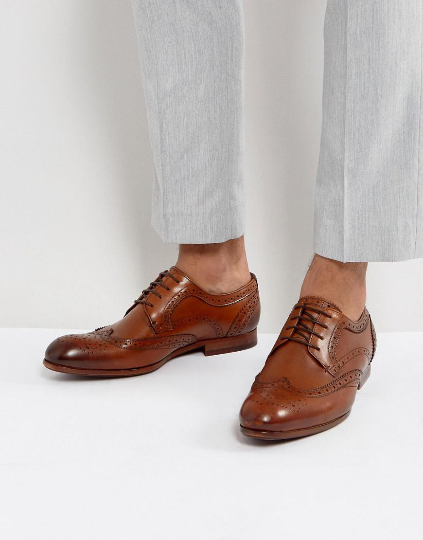 Ted Baker Granet Leather Brogue Shoes In bQ6YaS4