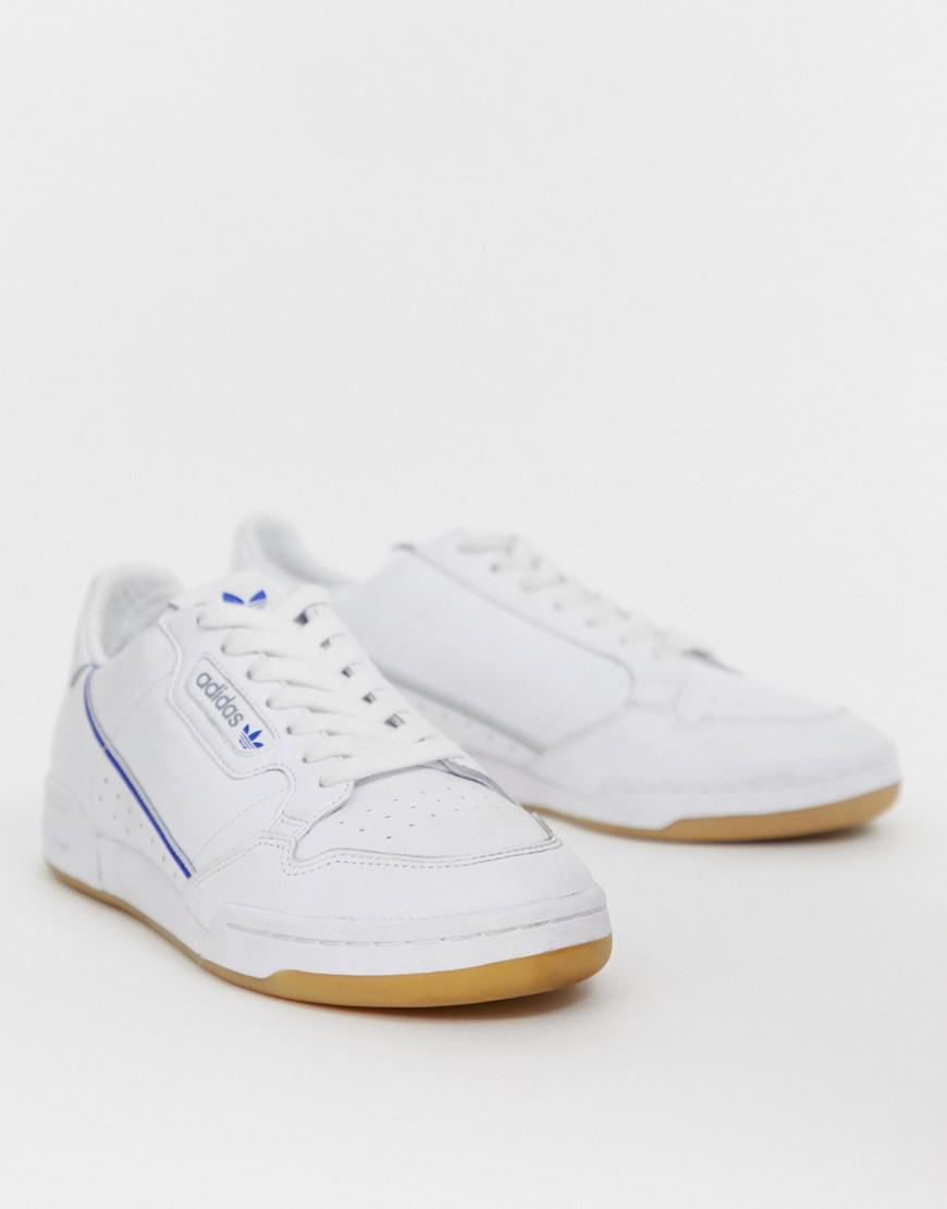 fc3ff69b835 Adidas Originals Continental 80's Tfl Piccadilly Jubilee Line Trainers In  White for men