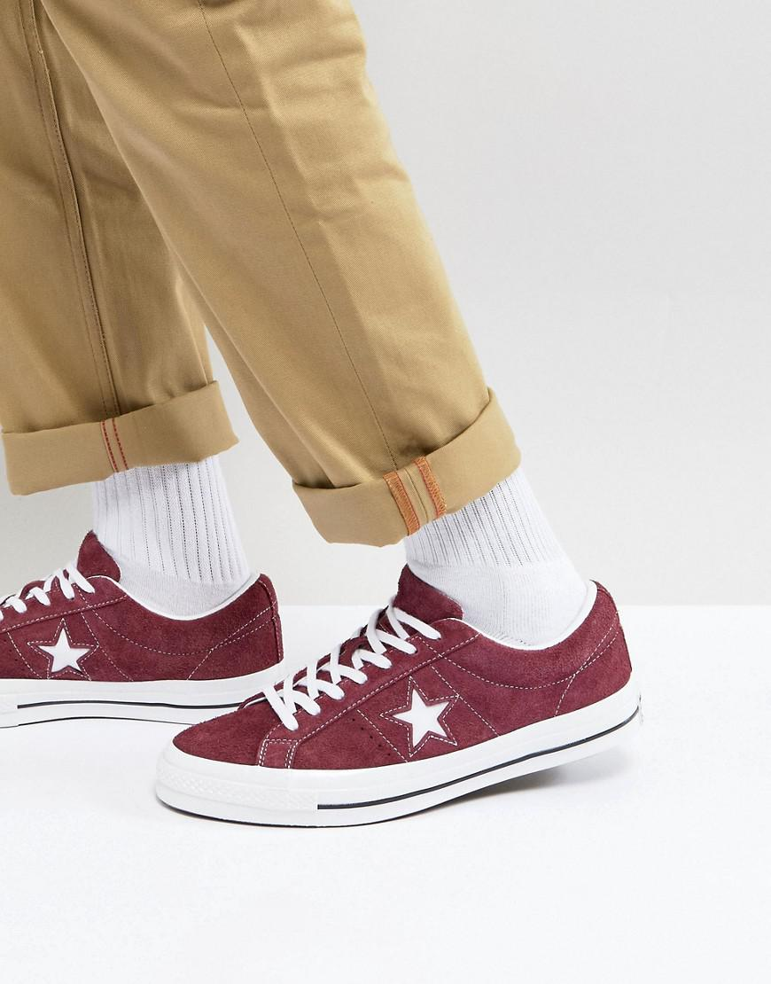 Converse One Star Ox Plimsolls In Brown 158370c in Brown for Men - Lyst 9277fea9a
