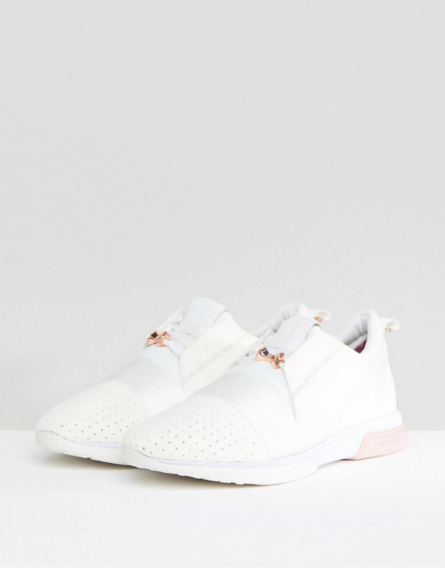 Ted Baker Cepas White And Rose Gold