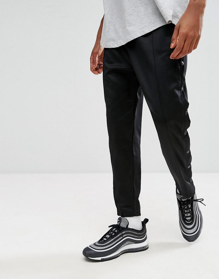 Boutons Lyst Avec De Pression Pour Mennace Pantalon Jogging Ajusté QxstrdhC