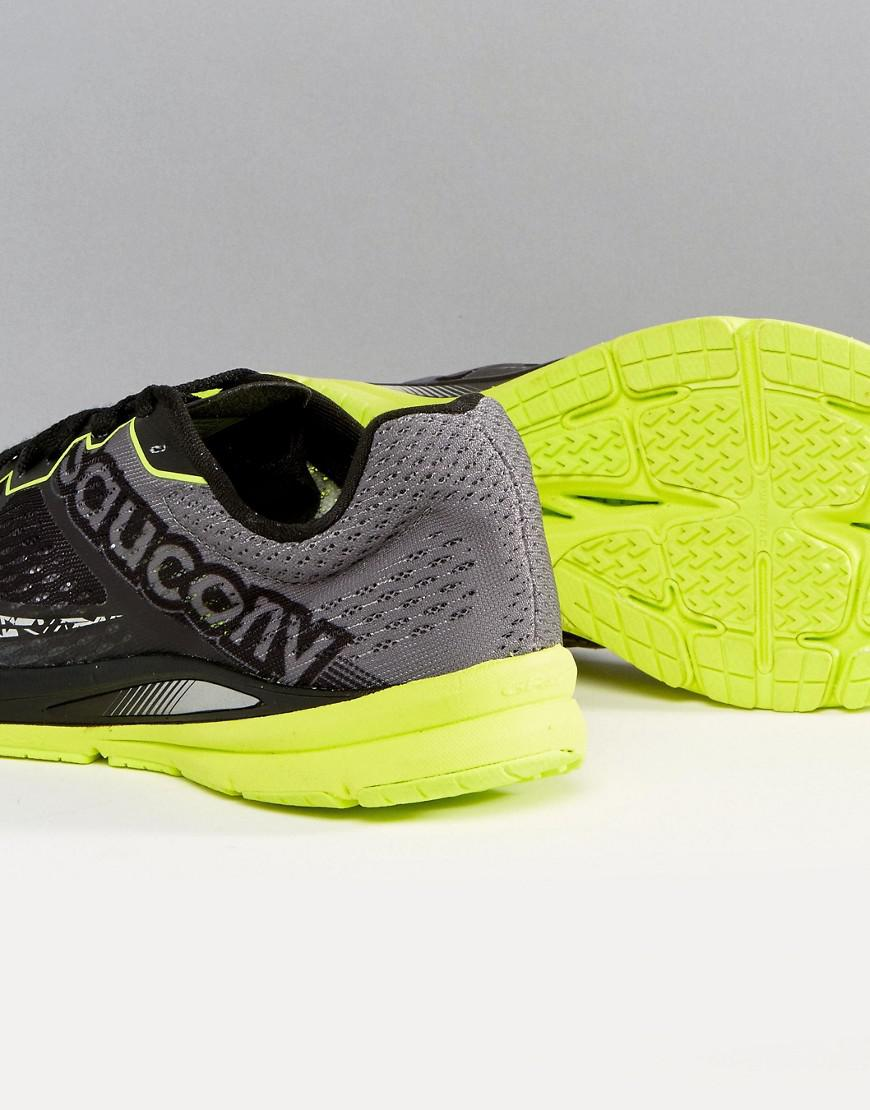 Saucony Running Fastwich 8 Sneakers In Black S29032-1 for Men