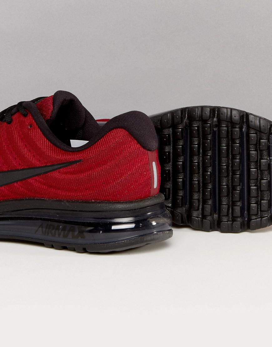 on feet shots of sale usa online united states Air Max 2017 Trainers In Red 849559-603
