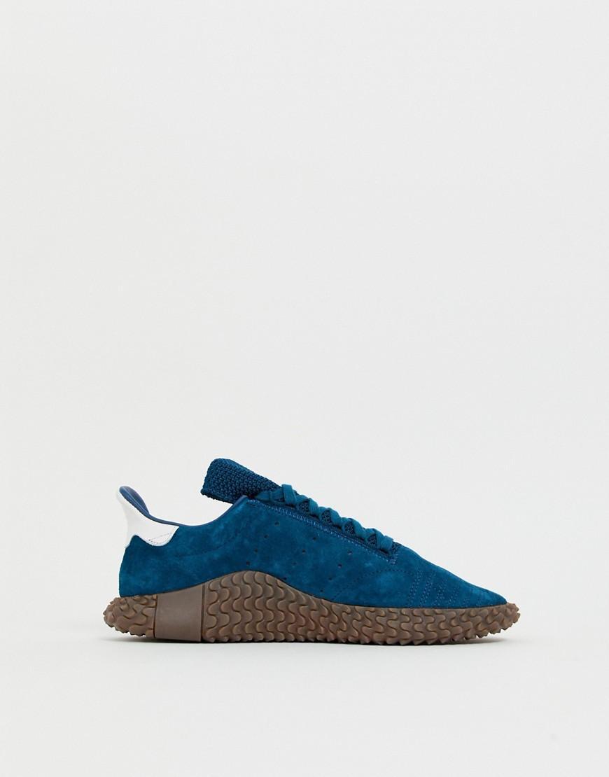 adidas Originals Rubber Kamanda 01 - Sneakers in het Blauw voor heren