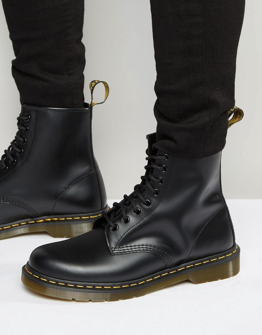 lyst dr martens original 8 eye boots 11822006 in black for men. Black Bedroom Furniture Sets. Home Design Ideas