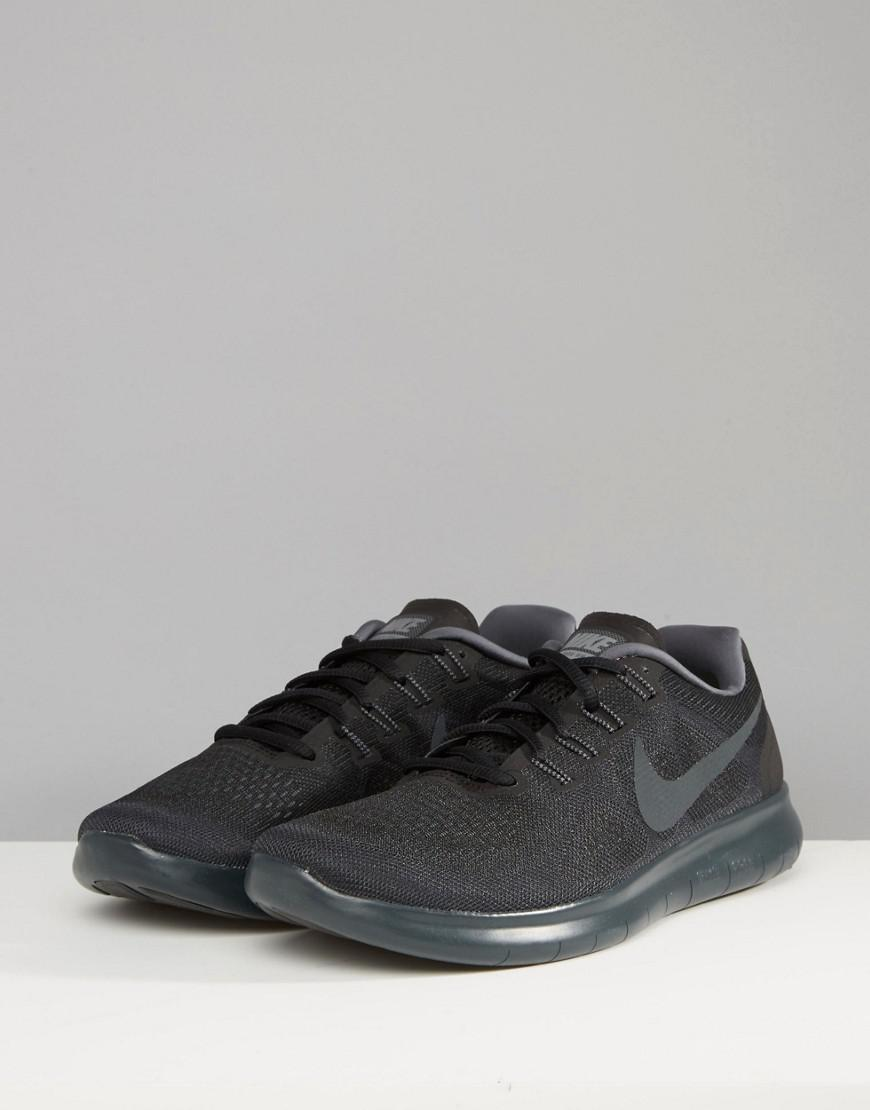 Nike Rubber Nike Free Run 2 Trainers In Black 880839-003 for Men
