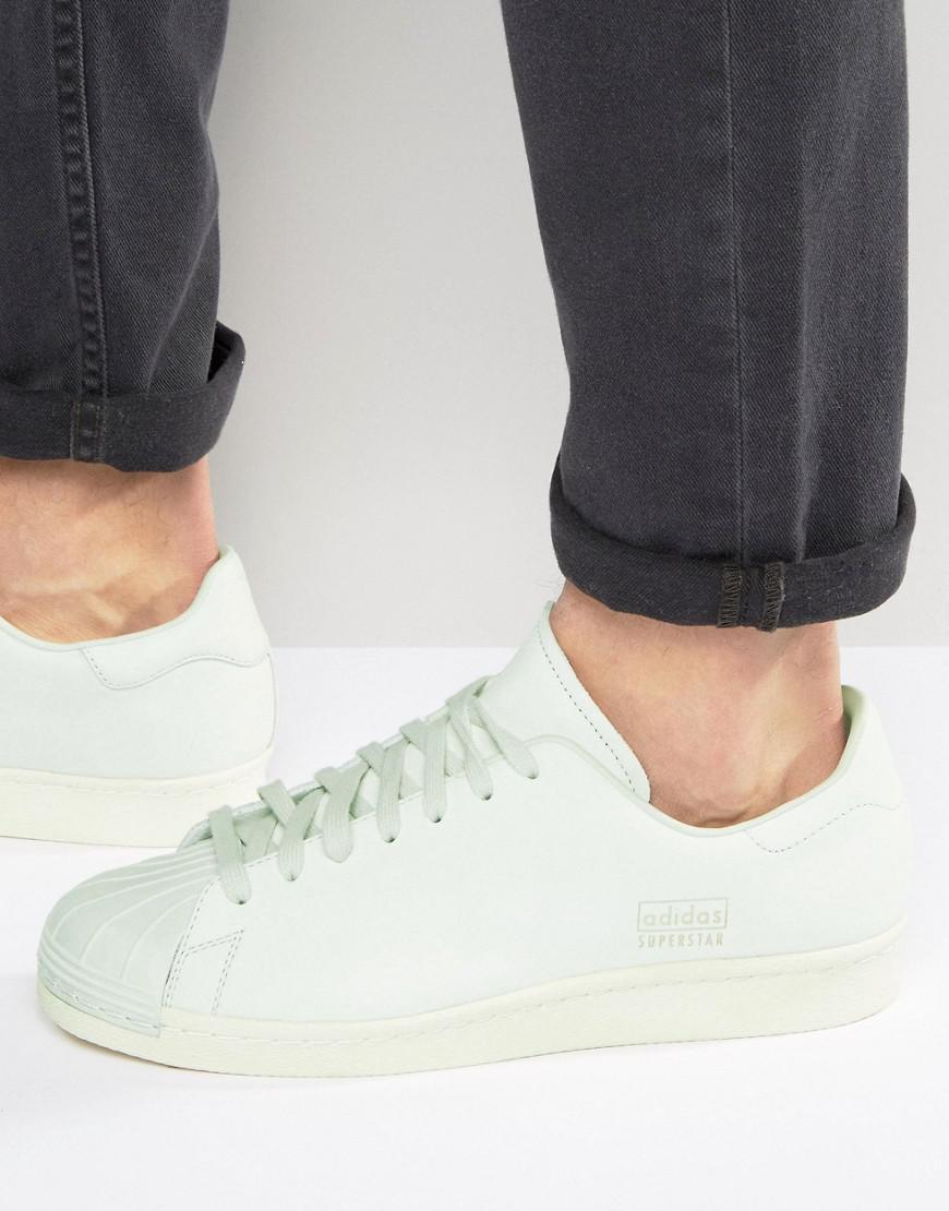 adidas superstar 80s clean white