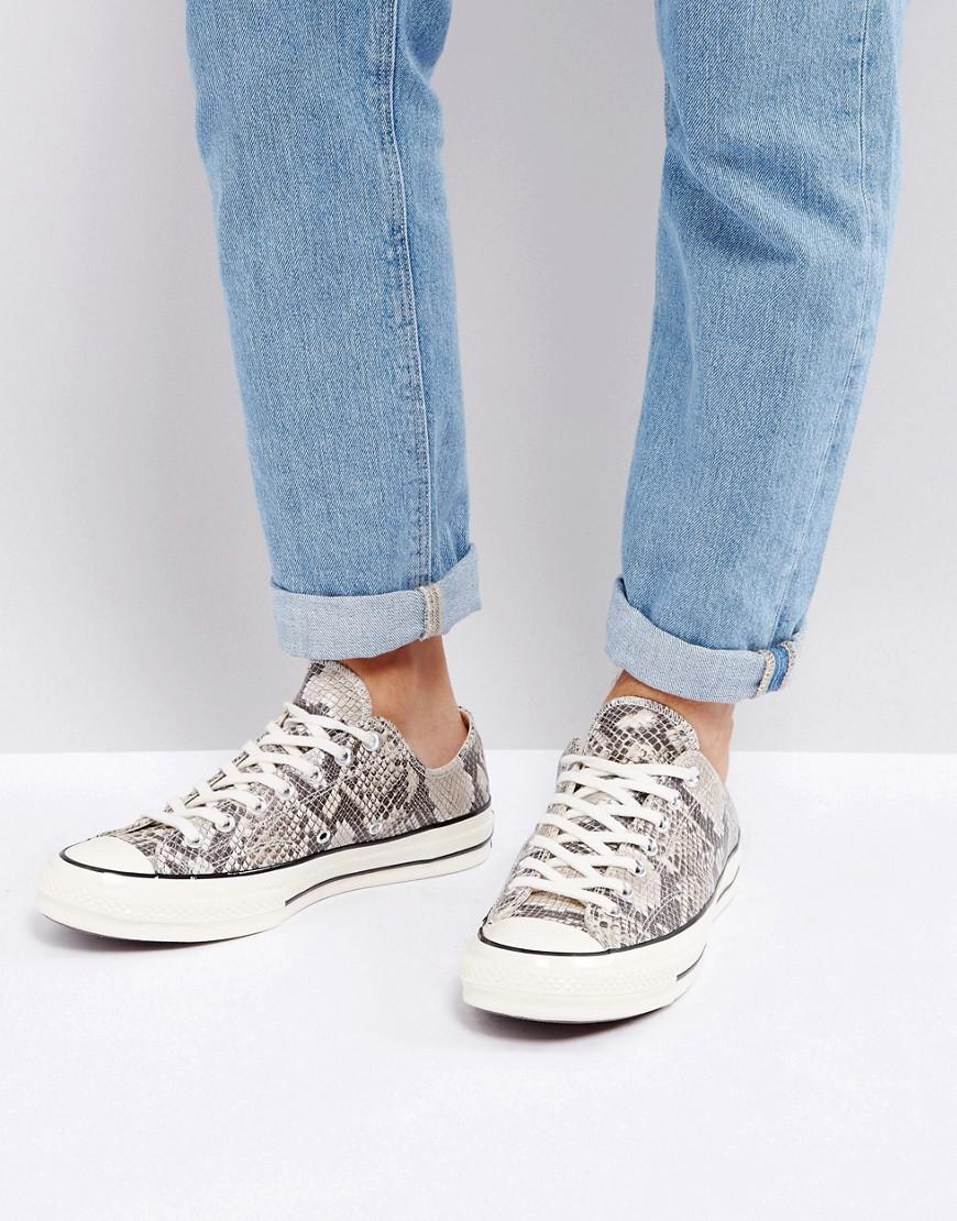 Converse Canvas Chuck Taylor All Star '70 Snake Pack Hi Sneakers ...