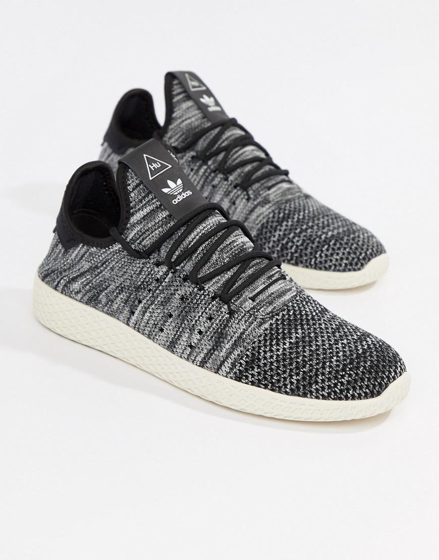 Lyst Tennis Adidas Originals Pharrell Williams Tennis Lyst Hu Trainers In Gris 1a620e