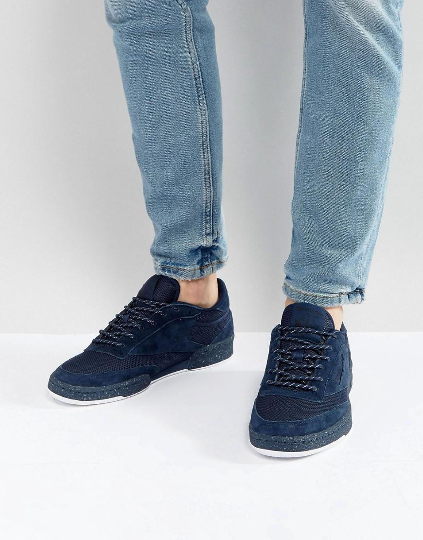 Reebok Club C 85 CLD Trainers In Blue BS9732 for nice online nicekicks cheap online hQDvyz