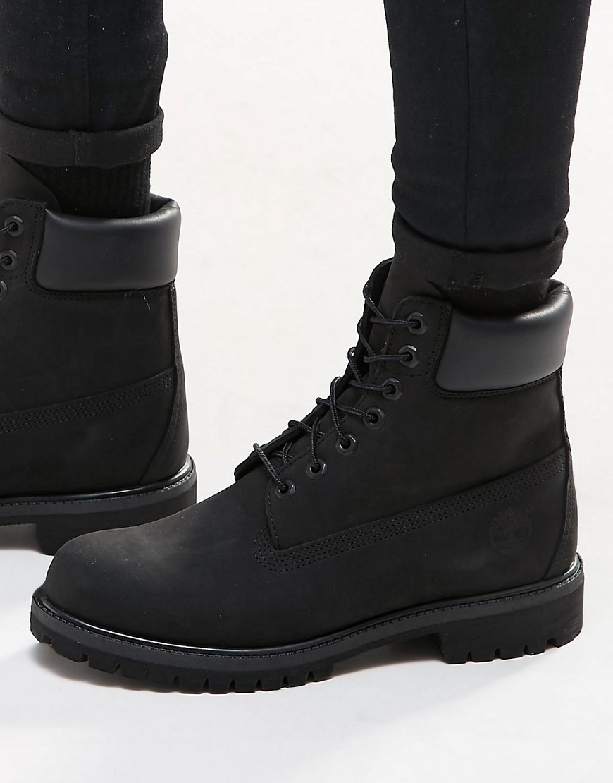 Timberland Classic Premium Boots In Black For Men Lyst