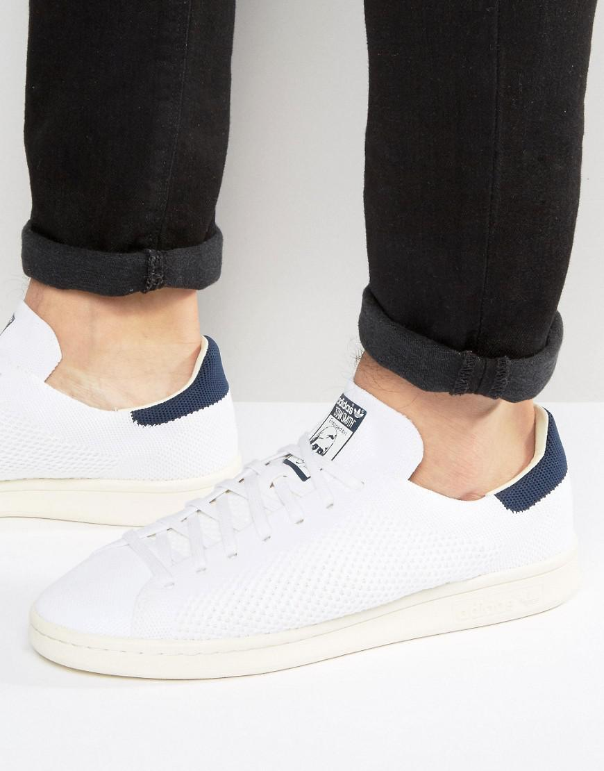 8835c5586c2 adidas Originals Stan Smith Og Primeknit Trainers In White S75148 in ...