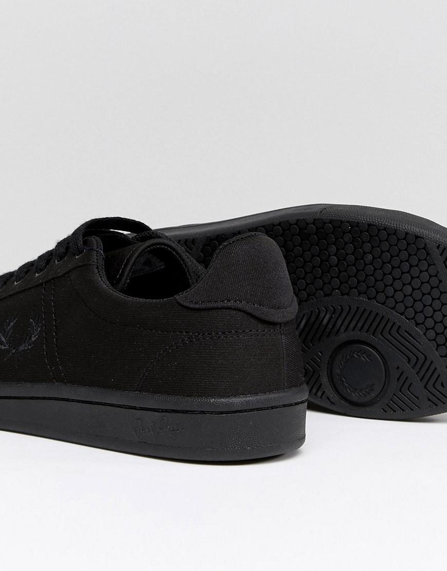 2d031d5cf B721 Tricot Sneakers In Black Black Fred Perry fZ91U - imbavaro.com
