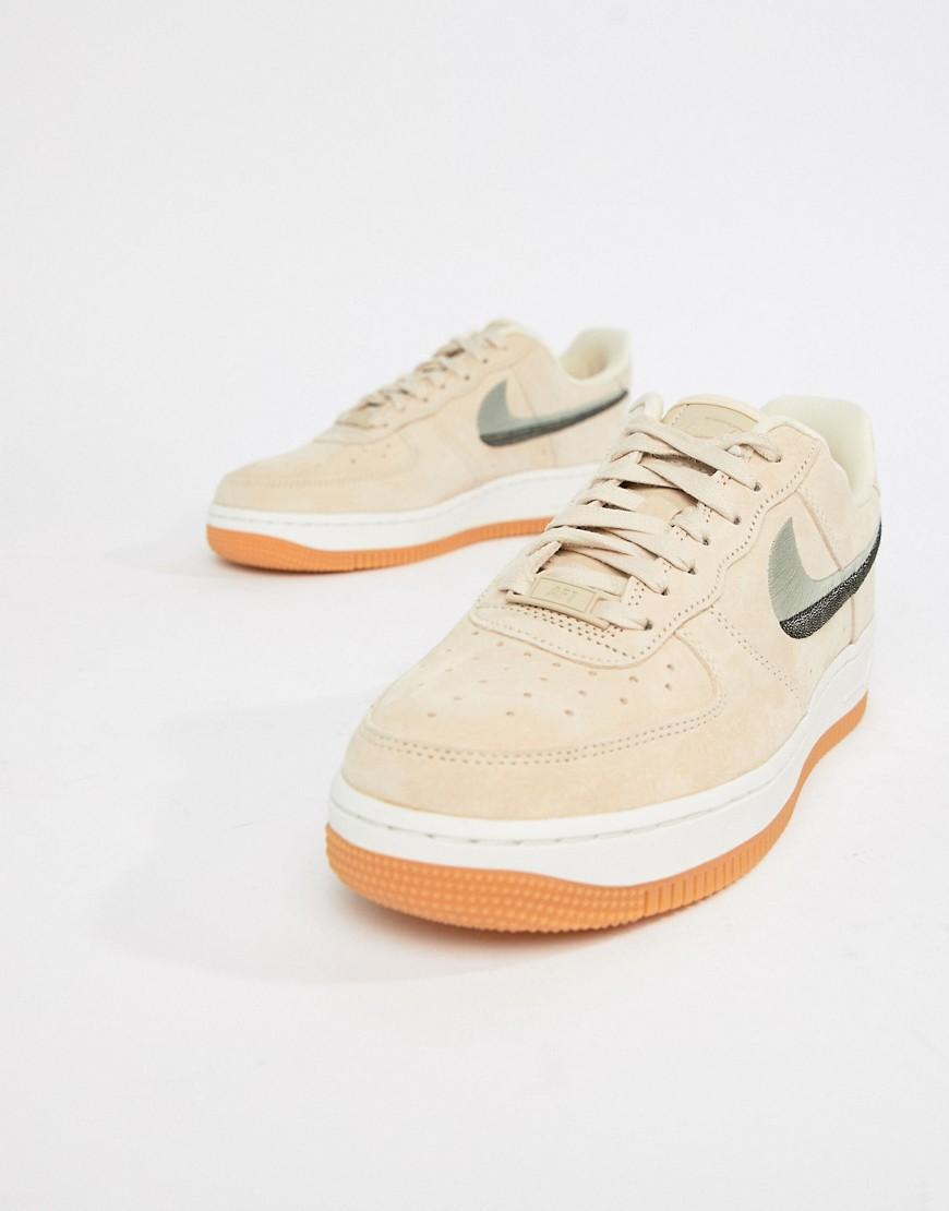 Air Force 1 - Baskets avec logo virgule contrastant - Pêche Nike ...