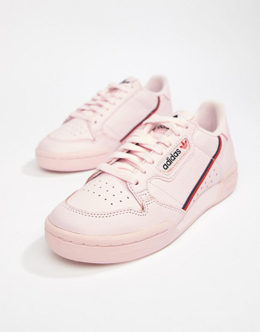 1d8aae1b701 adidas Originals Continental 80 s Sneakers In Pink in Pink - Lyst