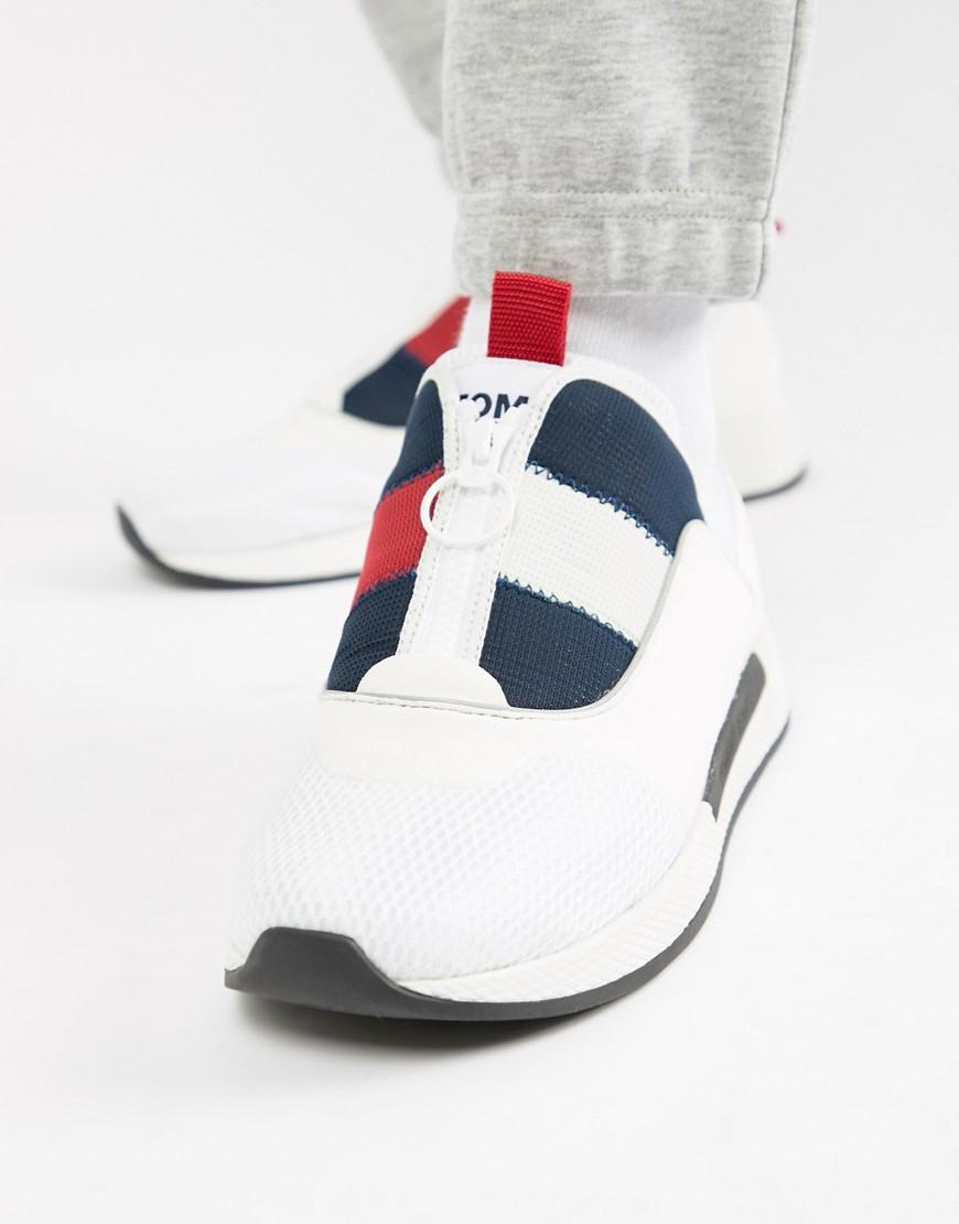 59b15309 Tommy Hilfiger Icon Sport Flexi Sole Sneaker In Red White And Blue ...