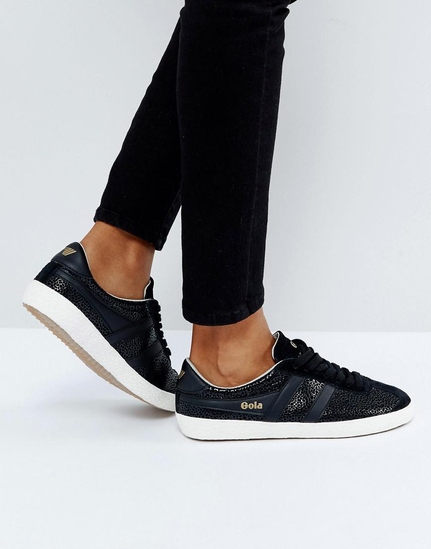 Gola Specialist Trainers In Crackled