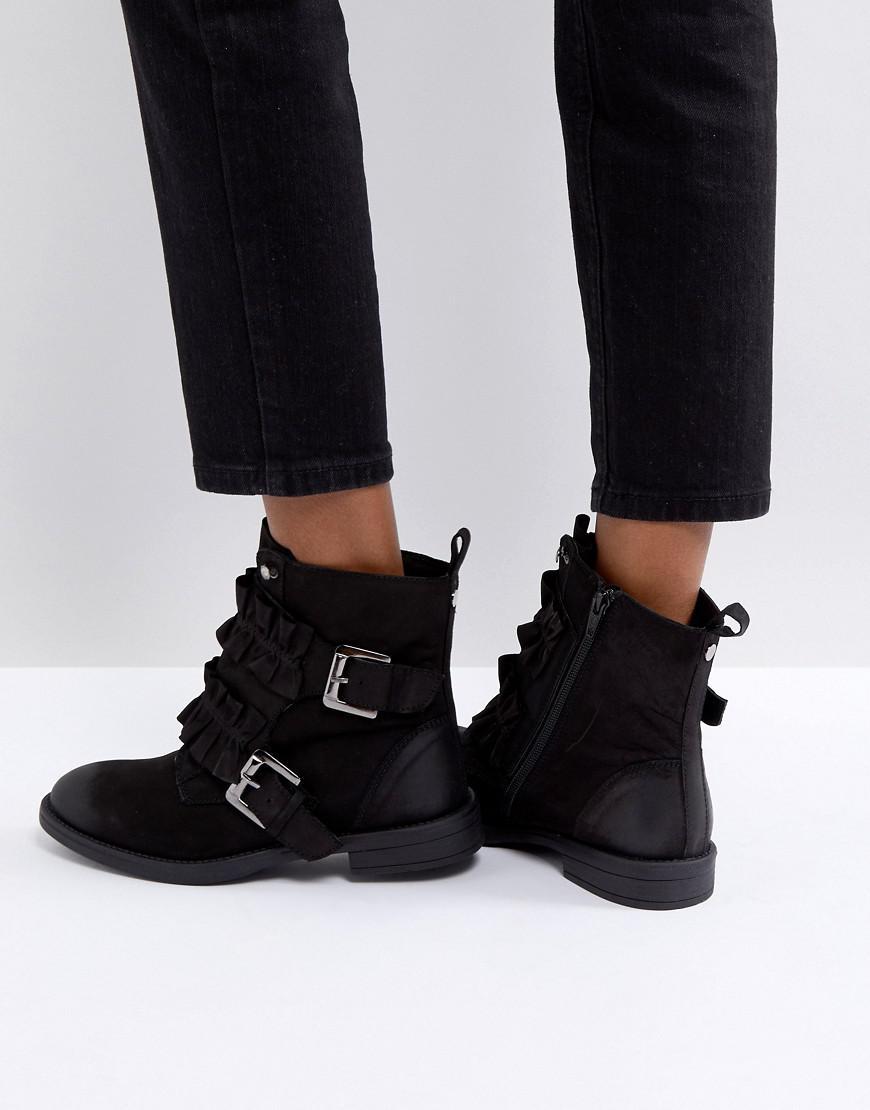 Miss KG Spice Ruffle Flat Boots e7WqxvlbQM